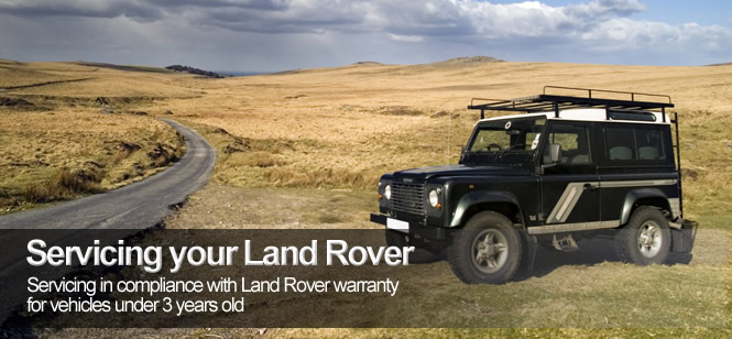 Land Rover servicing in Salisbury , Wiltshire